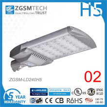 Günstige 240W LED-Straßenleuchte mit wasserdichtem Bewegungssensor