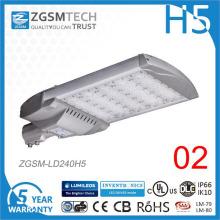 Luz barata da estrada do diodo emissor de luz 240W com o sensor de movimento impermeável
