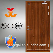 BS hotel 60 wood fire rated door with steel frame