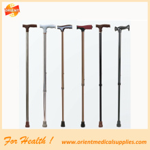 Lipat Adjustable topang Walking Stick perjalanan tongkat