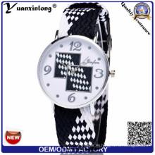 Yxl-207 Moda Buena Calidad Señora Nylon Reloj Muñeca Japón Movt Deporte Hombres Negocio Relojes Damas