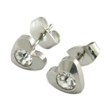 Wholesale Fashion Design 316L Stainless Steel CZ Stud Earrings
