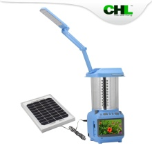 Chinese CHL solar battery powered led table lamps with tv