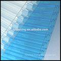 Matériau de construction en feuille de polycarbonate en nid d'abeille de 10 à 16 mm Protection UV