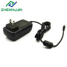 12 Volt 2500mA Wall Mounted Adapter Charger 30W