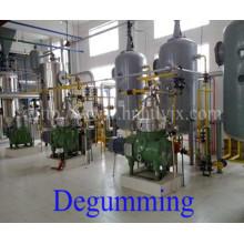 Máquinas de refino de óleo de farelo de arroz (venda quente em Bangladesh)