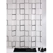 Cortina de ducha textil