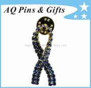 Fashion Jewellery Brooch Lapel Pin with Diamond