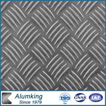 Fünf Bar Checkered Aluminium / Aluminiumblech / Platte / Platte