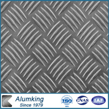 Feuille d'aluminium en relief 3003/3105 pour l'électricité