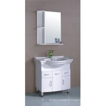 Mobília do armário de banheiro do PVC de 80cm (B-518)