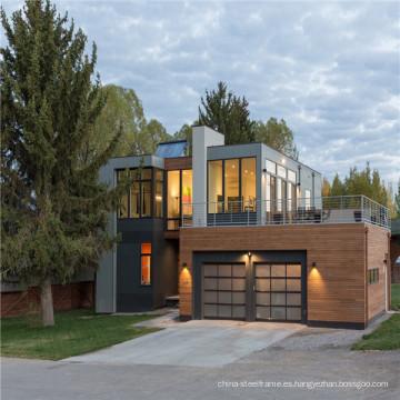 (WL-4) China Prefab modular de lujo de varios pisos Integreted Casa / Prefab Vivir Villa