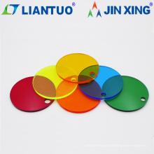 Feuilles acryliques extrudées de couleur personnalisées