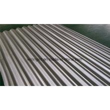 Chapa de aço resistente ao desgaste ondulado para a construção de telhados de parede