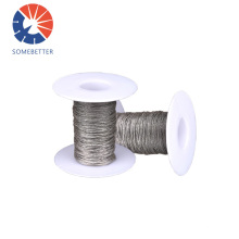 8~12 Cutting Sapphire Customized Steel Slicing Si Wafer Abrasive Parts Diamond Wire Saw For Glass
