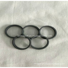 Ímã de anel de ferrite permanente, tamanhos personalizados são aceitos
