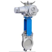 China made low price high quality electric knife gate valve drawing