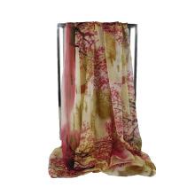 Hot Sale Écharpes femme bon marché Écharpe en polyester en mousseline de soie