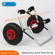 Carro de aluminio en forma de U kayak