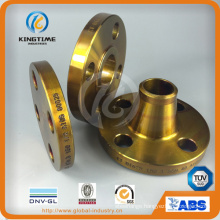 Coated Carbon Steel Wn RF Flange Forged Flange with TUV (KT0266)
