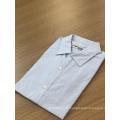 Männliches Jacquard-Langarmhemd aus 100% Baumwolle