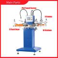 Impresora del silicón de la máquina de serigrafía del babero del bebé de 4 colores