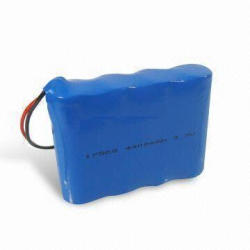 Lithium Ion Battery with 4,400mAh Capacity for Long Cycle Lifespan, Suitable for Sound Equipment
