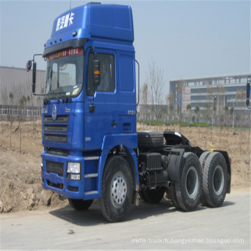 6X4 336HP Tractor Truck Nouvelle remorque
