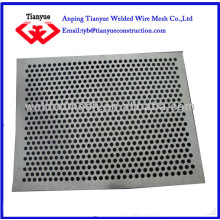 MS perforated metal sheet 2.0 hole
