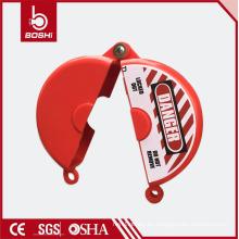 BLOQUEO DE LA VÁLVULA DE PUERTA DEL ABS BD-F13 para el diámetro de la varilla de la válvula 12.7cm- 16.5cm, bloqueo de la válvula brady