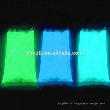 Resplandor en pigmento oscuro, pigmento fotoluminiscente para resina.