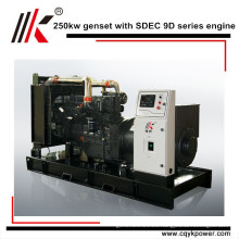 CHINA 250KW FREE ENERGY MAGNETIC GENERATOR WITH SIX CYLINDER DIESEL ENGINE
