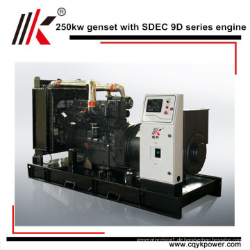 CHINA 250KW FREIER ENERGIE-MAGNETGENERATOR MIT SECHS ZYLINDER-DIESELMOTOR