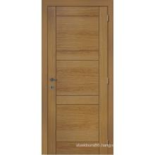 Customized Exterior Door, Home Design Entry Door Rustic Wood Veneer Door