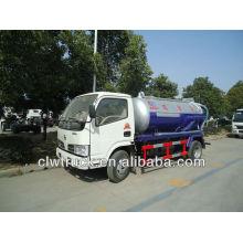 Camion d'aspiration d'eaux usées CLW5060GXW3, camion d'épuration 3 m3