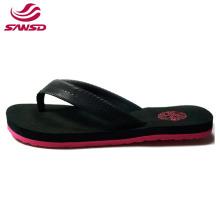 hot products summer beach EVA slipper fabric flip flops for women
