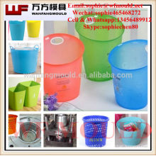 2017 hot new products plastic injection Garbage Basket mould OEM plastic injection mould for Garbage Basket