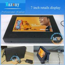 7-дюймовый портативный рекламный дисплей
