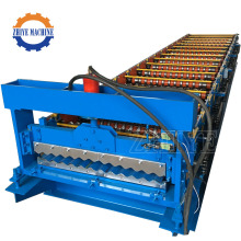 Corrugated Steel Profile Metal Roofing Sheet Making Machine