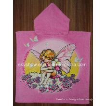 Банное полотенце с принтом Customed Poncho (SST0371)