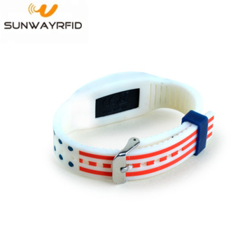 NTAG® 213 NFC rfid Colorful Silicone Wristband