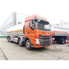 Camión tanque de combustible 8x4 para transporte de petróleo