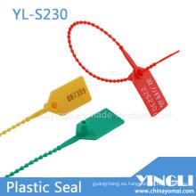 Sellos de plástico a prueba de manipulaciones en 230 mm