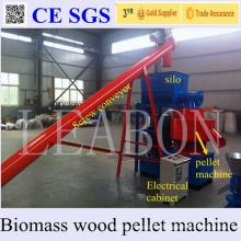 1000kg Vertical Ring Die Complete Sawdust Wood Pellet Plant for Sale