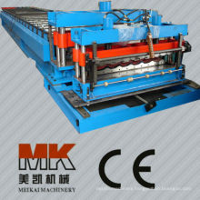 Color Coat Stell Tile Roll Forming Machine