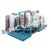 Máquina de revestimento de aço inoxidável da colher / forquilha / utensílios de mesa PVD / sistema chapeamento de íon
