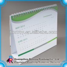Spiral desktop calendar,table calendar printing sevice