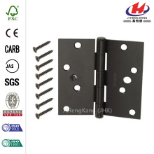 Oil-Rubbed Bronze Square Corner Security Door Hinges