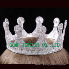 2016 Birthday Party Crystal Tiara White Rhinestone Crown