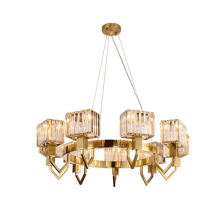 Large Decorative Modern Hotel Living Room Lobby Classic Crystal Chandelier